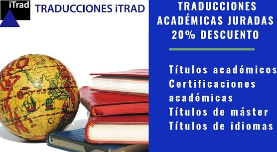 20% DE DESCUENTO EN TRADUCCIÓN DE DOCUMENTOS ACADÉMICOS