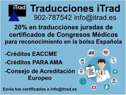 TRADUCCIÓN JURADA DE CERTIFICADOS PARA MÉDICOS Y PROFESIONALES SANITARIOS
