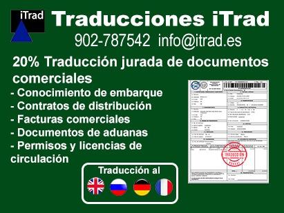 TRADUCCIÓN DOCUMENTOS COMERCIALES