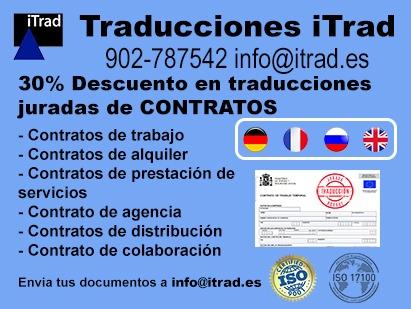Traducción jurada de contratos