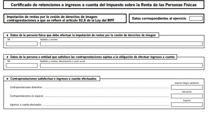TRADUCCIÓN JURADA A INGLÉS DE CERTIFICADO DE INGRESOS