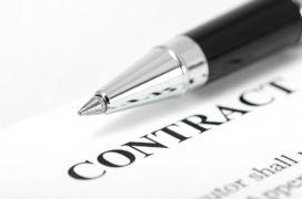La traducción de un contrato