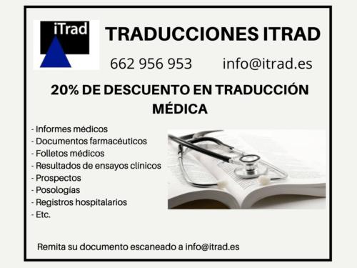 TRADUCCIÓN JURADA DE INFORMES MÉDICOS